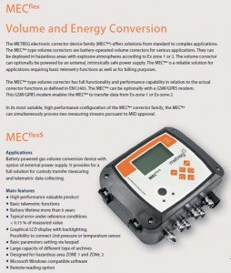 MECflex VOLUME AND ENERGY CONVERSION