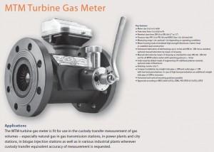 MTM TURBINE GAS METER